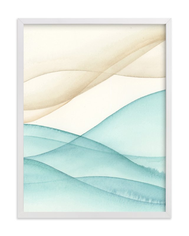 """""""Playa Five"""" - Art Print by Emily Magone in beautiful frame options and a variety of sizes."""