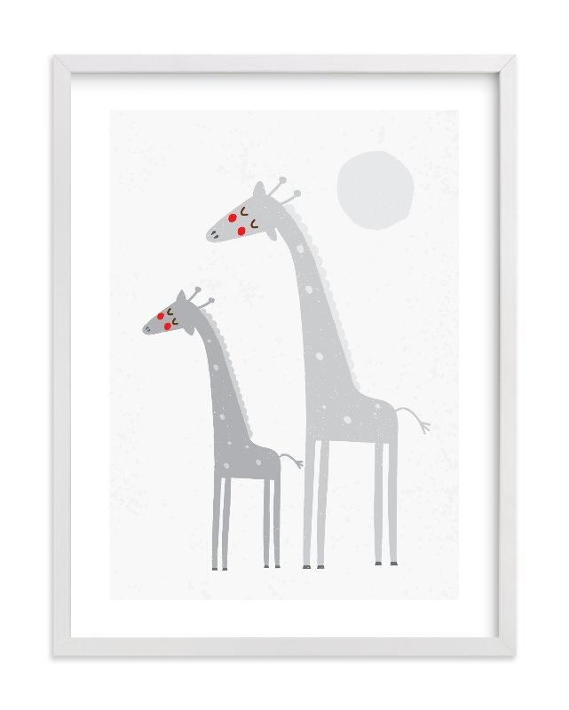 """""""Moonlight Safari"""" - Limited Edition Art Print by Angela Thompson in beautiful frame options and a variety of sizes."""