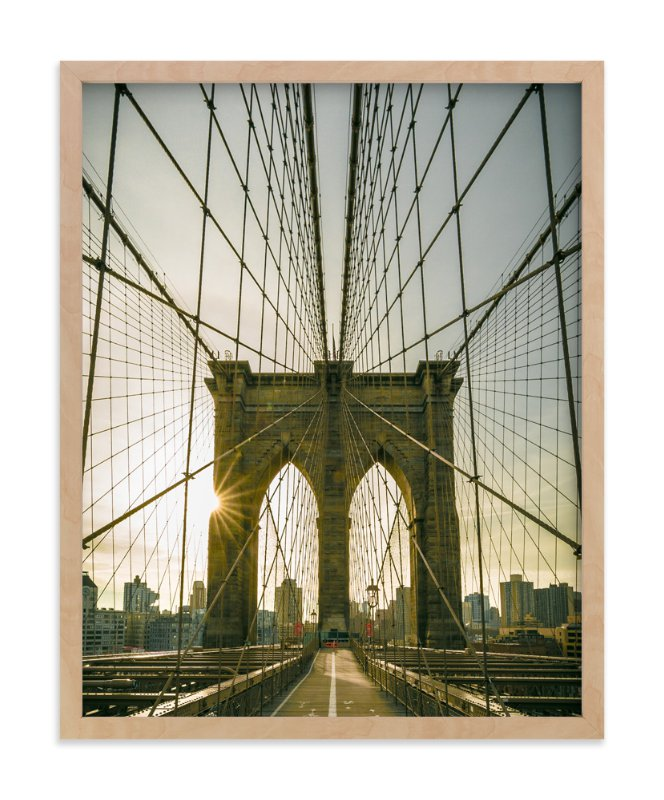 """Brooklyn Light"" - Limited Edition Art Print by Jason Derck in beautiful frame options and a variety of sizes."