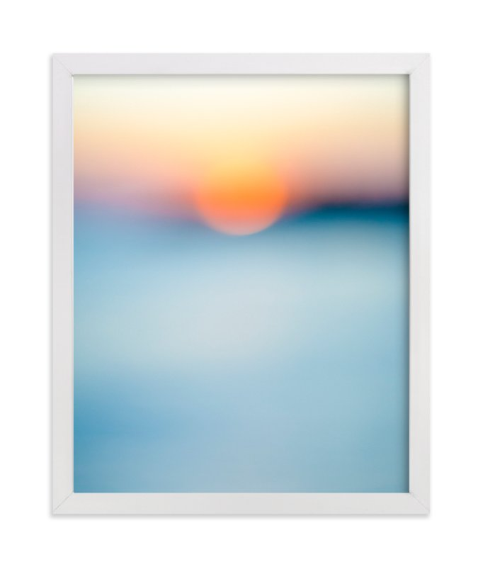 """""""Sunset Study"""" - Art Print by Jessica Cardelucci Nugent in beautiful frame options and a variety of sizes."""