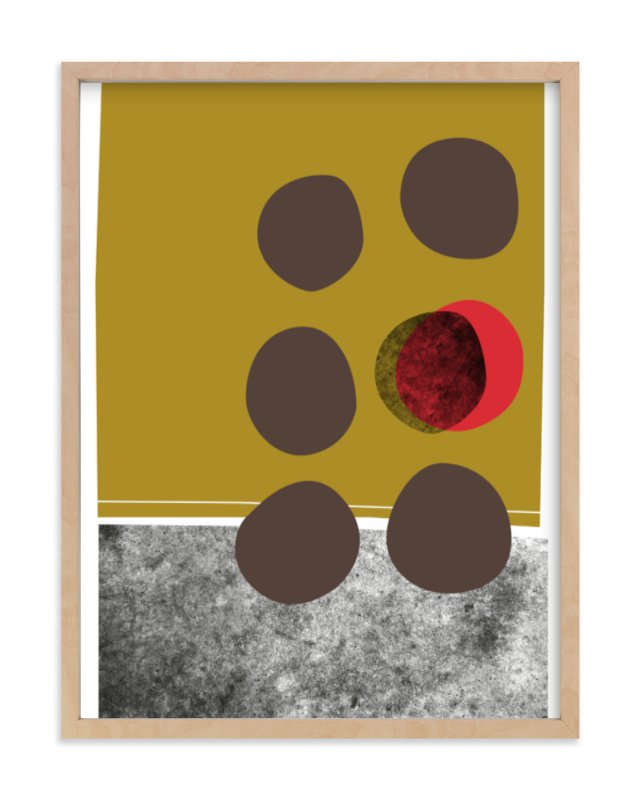 """""""abstracciones vol.2"""" - Art Print by Aspacia Kusulas in beautiful frame options and a variety of sizes."""