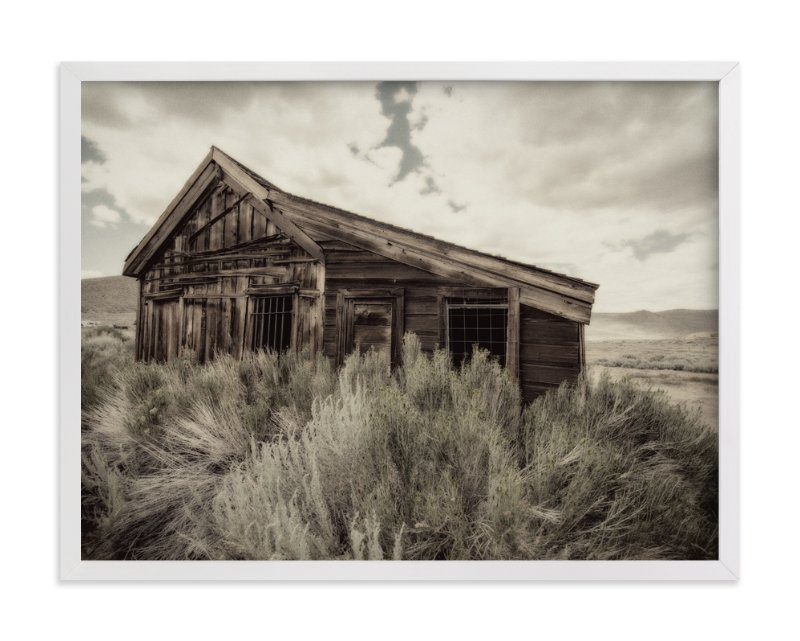 """Buildings of Bodie, CA :: II"" - Art Print by Kellie Medivitz in beautiful frame options and a variety of sizes."