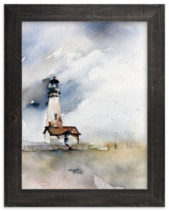"""Solitary Watch"" - Art Print by Karen Kaul in beautiful frame options and a variety of sizes."