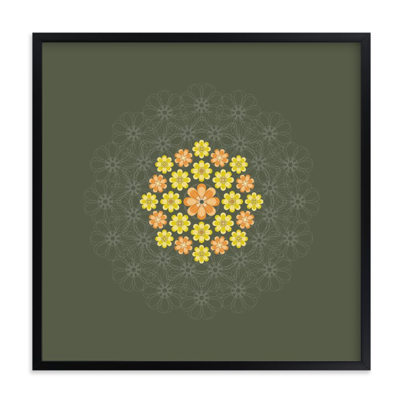 """Bouquet of Sunshine"" - Art Print by Jenean Morrison in beautiful frame options and a variety of sizes."