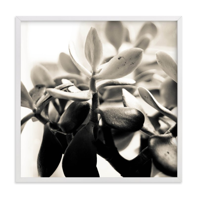 """Sepia succulent"" - Art Print by Stylisti in beautiful frame options and a variety of sizes."