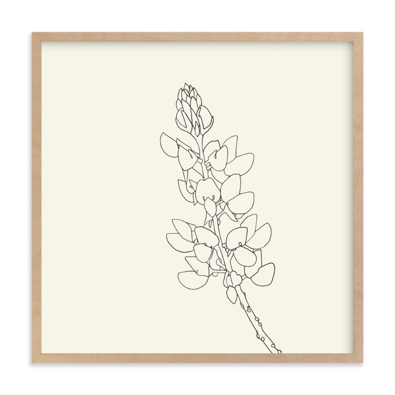 """Lupine"" - Art Print by Jorey Hurley in beautiful frame options and a variety of sizes."