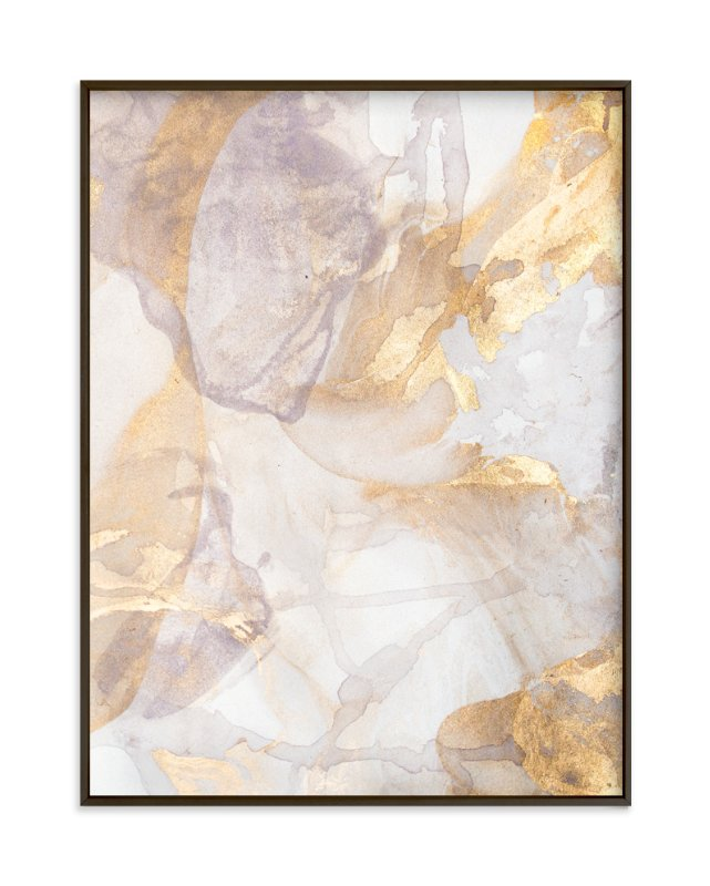 """Soft Shimmer No. 2"" - Art Print by Julia Contacessi in beautiful frame options and a variety of sizes."