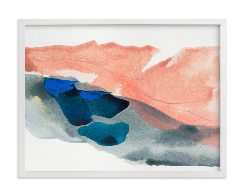 """Morning River"" - Limited Edition Art Print by Lauren Adams in beautiful frame options and a variety of sizes."