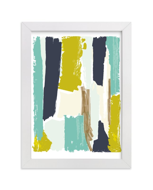 """""""Color Study Two"""" - Art Print by Karidy Walker in beautiful frame options and a variety of sizes."""