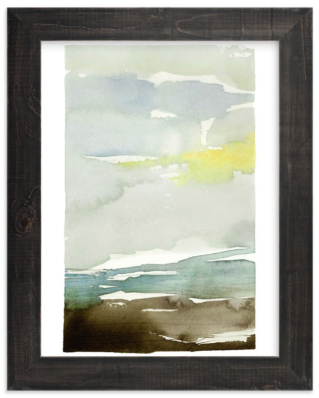 """""""Sunset Fade No 1"""" - Art Print by Kelly Ventura in beautiful frame options and a variety of sizes."""
