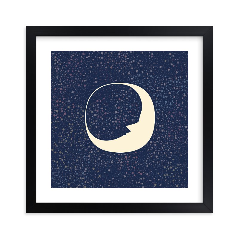 """Celestial Moon"" - Limited Edition Art Print by Katherine Morgan in beautiful frame options and a variety of sizes."