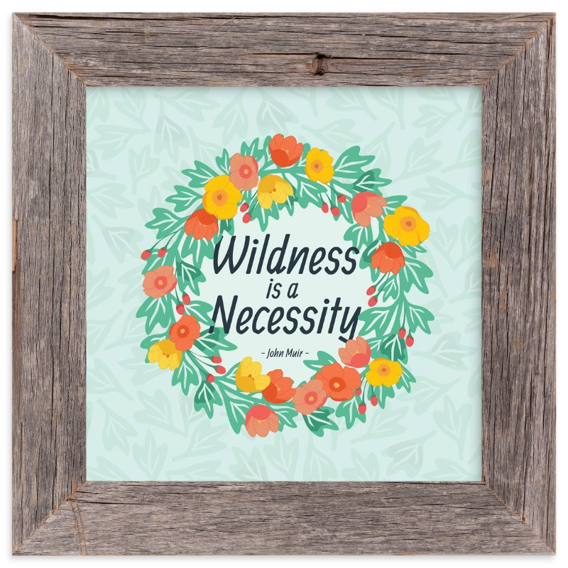 """""""Wildness Floral"""" - Art Print by Katie Tandlmayer in beautiful frame options and a variety of sizes."""