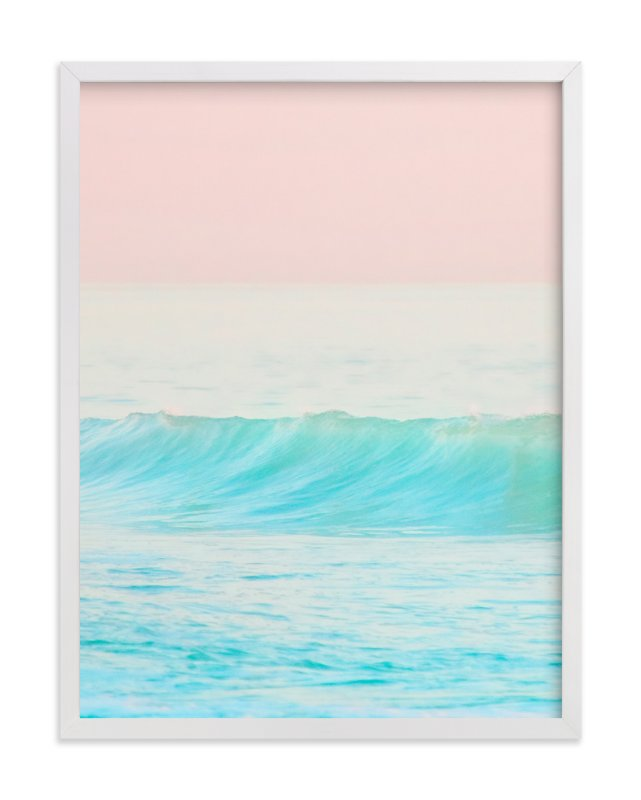 """""""Bubble Gum #1"""" - Limited Edition Art Print by Jessica Cardelucci Nugent in beautiful frame options and a variety of sizes."""