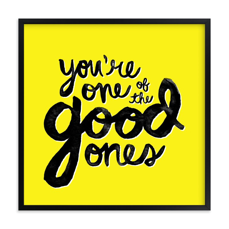 """The Good Ones"" - Art Print by Pistols in beautiful frame options and a variety of sizes."