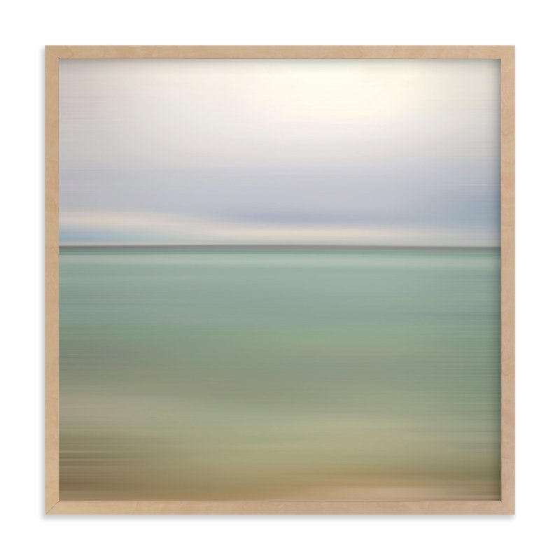 """Twisted Horizon"" - Art Print by amanda cunningham in beautiful frame options and a variety of sizes."
