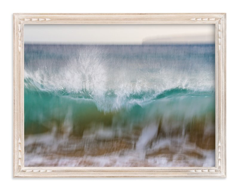 """""""Hawaii Wave Break"""" - Art Print by Mary Ann Glynn-Tusa in beautiful frame options and a variety of sizes."""