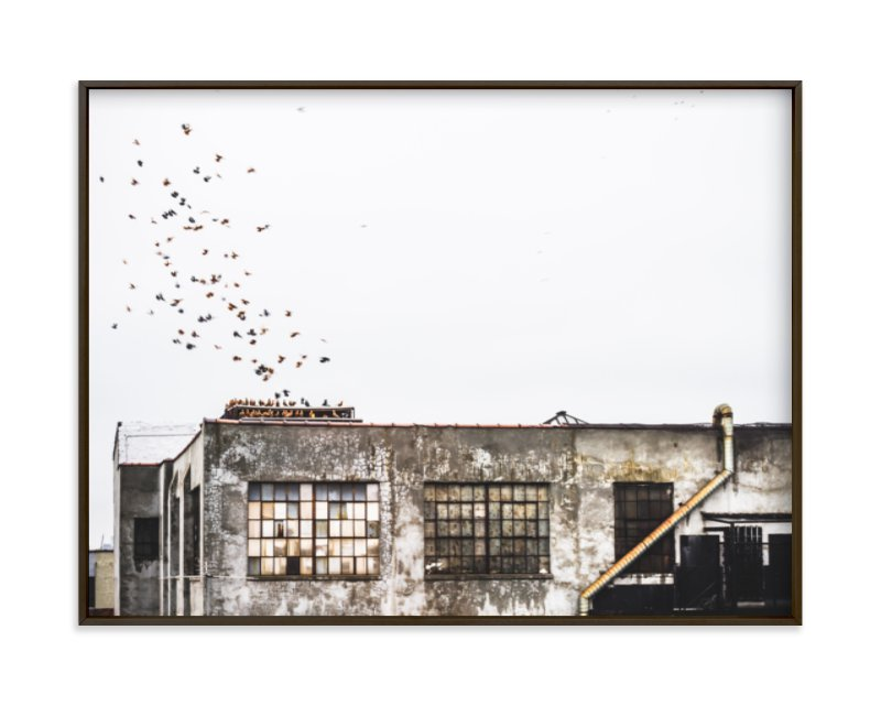 """Brooklyn"" - Art Print by Kaitlin Rebesco in beautiful frame options and a variety of sizes."