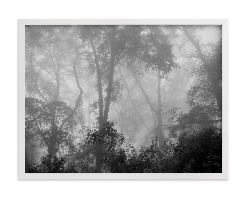 """Nowhere But Here"" - Art Print by Kaitlin Rebesco in beautiful frame options and a variety of sizes."