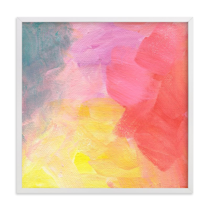 """""""Hot Hues"""" - Art Print by 2birdstone in beautiful frame options and a variety of sizes."""