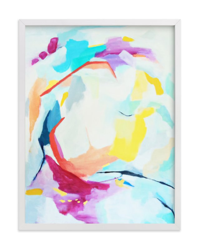 """Move Me"" - Art Print by Mya Bessette in beautiful frame options and a variety of sizes."