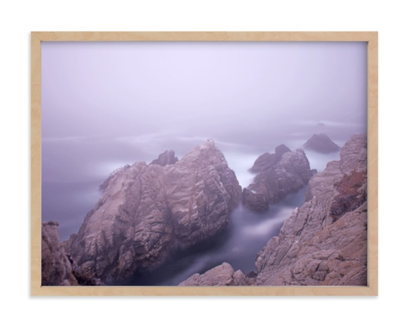 """""""A foggy day in Point Lobos"""" - Art Print by NSMARK in beautiful frame options and a variety of sizes."""