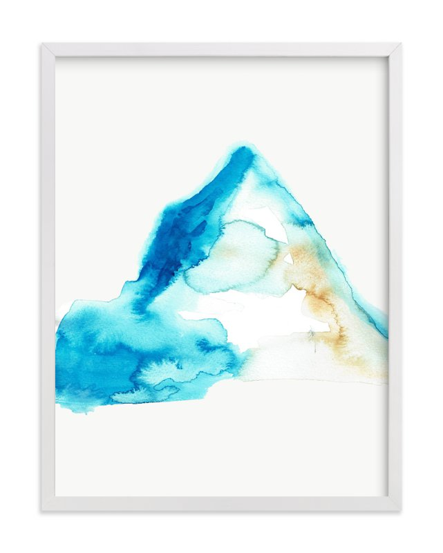"""""""The Summit"""" - Art Print by Christi Parks in beautiful frame options and a variety of sizes."""