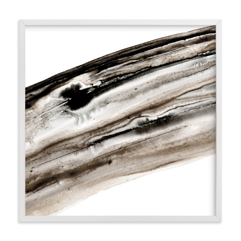 """""""Bark"""" - Art Print by Michelle Waldie in beautiful frame options and a variety of sizes."""