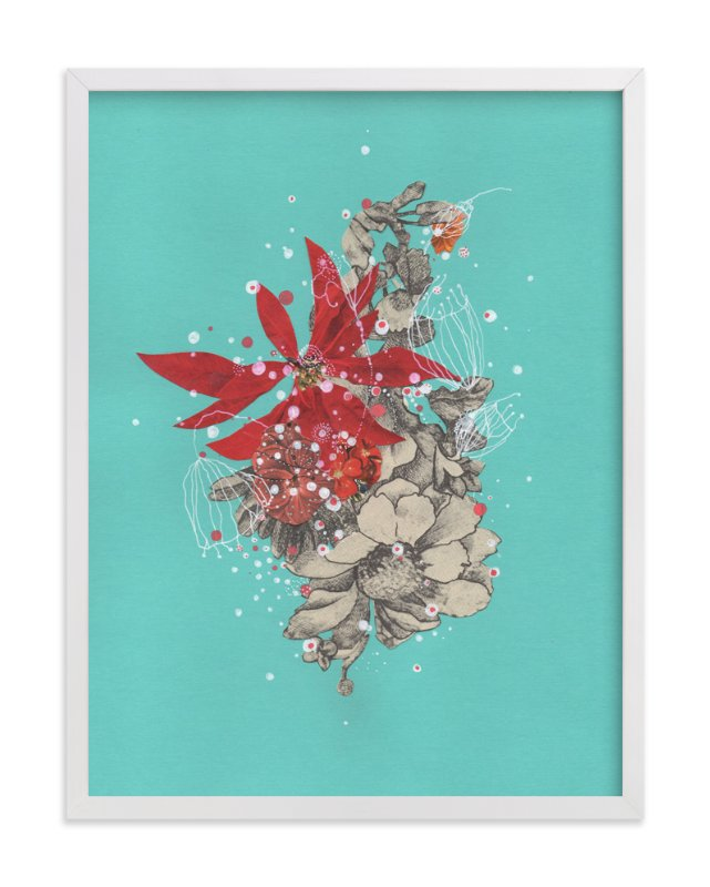 """Ocean's Jewel Box"" - Art Print by Jenny Brown in beautiful frame options and a variety of sizes."