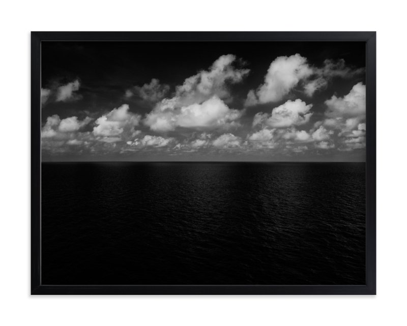 """Sea and Clouds"" - Art Print by Massimiliano Massimo Borelli in beautiful frame options and a variety of sizes."