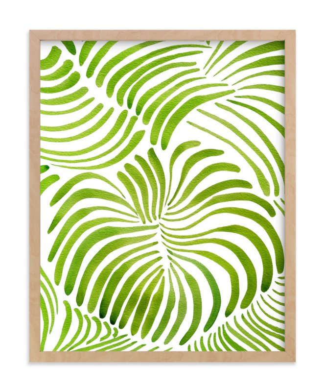 """Minted Forest"" - Art Print by Deborah Velasquez in beautiful frame options and a variety of sizes."