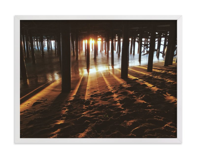 """""""Light Beams"""" - Art Print by Christian Florin in beautiful frame options and a variety of sizes."""
