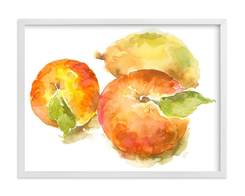 """""""Ranch Apples"""" - Art Print by Joseph Weber in beautiful frame options and a variety of sizes."""