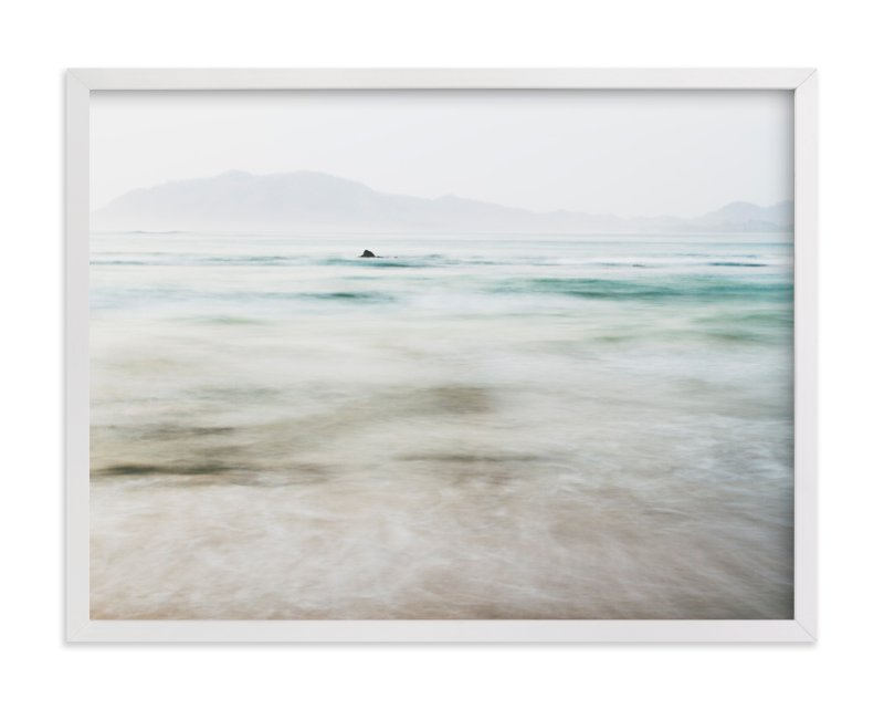 """the pacific"" - Art Print by Kaitlin Rebesco in beautiful frame options and a variety of sizes."
