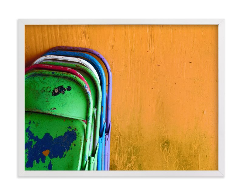"""""""Stacked"""" - Art Print by Loren Willis in beautiful frame options and a variety of sizes."""
