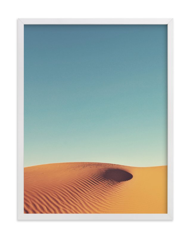 """""""Desert Wave"""" - Art Print by Catherine Culvenor in beautiful frame options and a variety of sizes."""