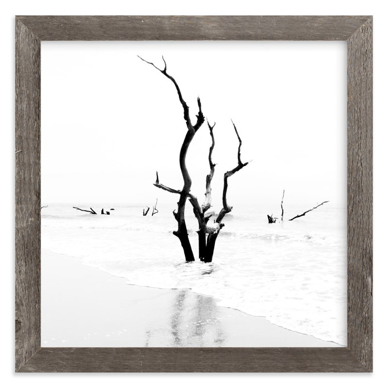 """""""Boneyard Beach"""" - Art Print by Nadia Hassan in beautiful frame options and a variety of sizes."""