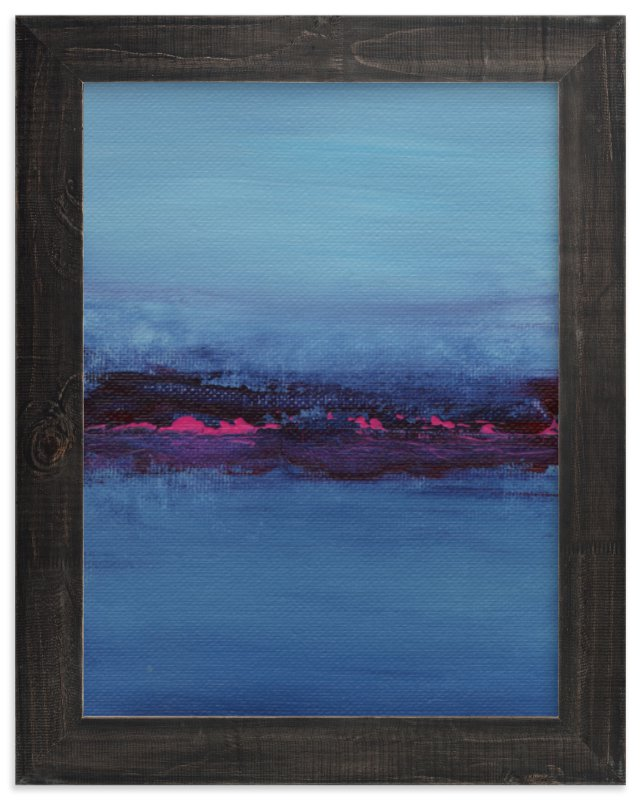 """Lights on the Lake"" - Limited Edition Art Print by Lindsay Megahed in beautiful frame options and a variety of sizes."
