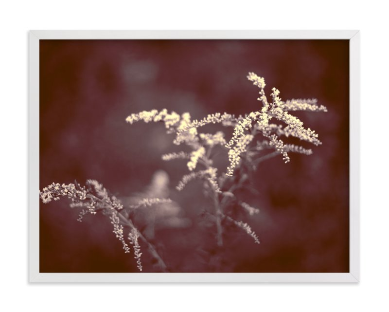 """""""Marsala Flowers"""" - Art Print by Jen Florentine in beautiful frame options and a variety of sizes."""