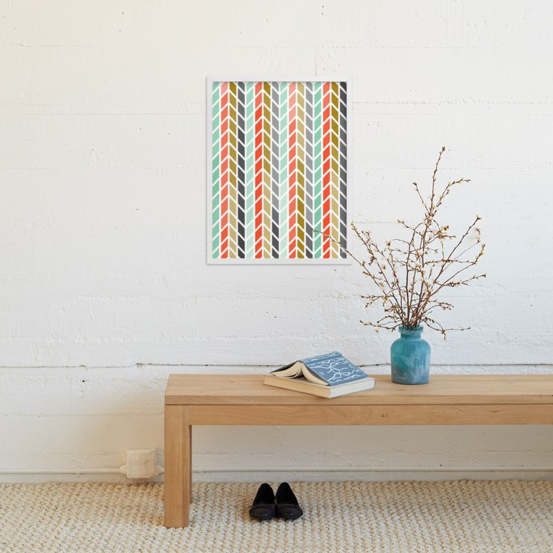"""""""Knit One Purl Two"""" - Art Print by Linda Misiura in beautiful frame options and a variety of sizes."""