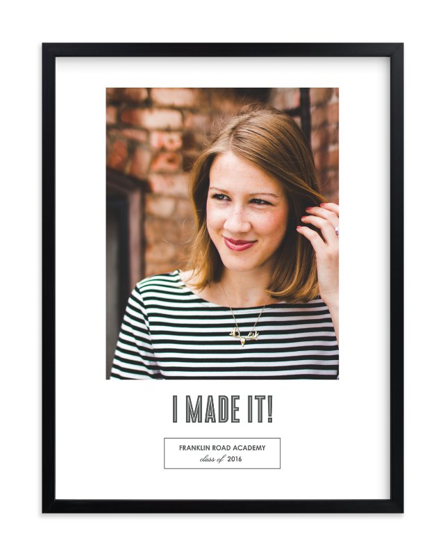 """""""Mod Grad"""" - Custom Photo Art Print by Sara Hicks Malone in beautiful frame options and a variety of sizes."""