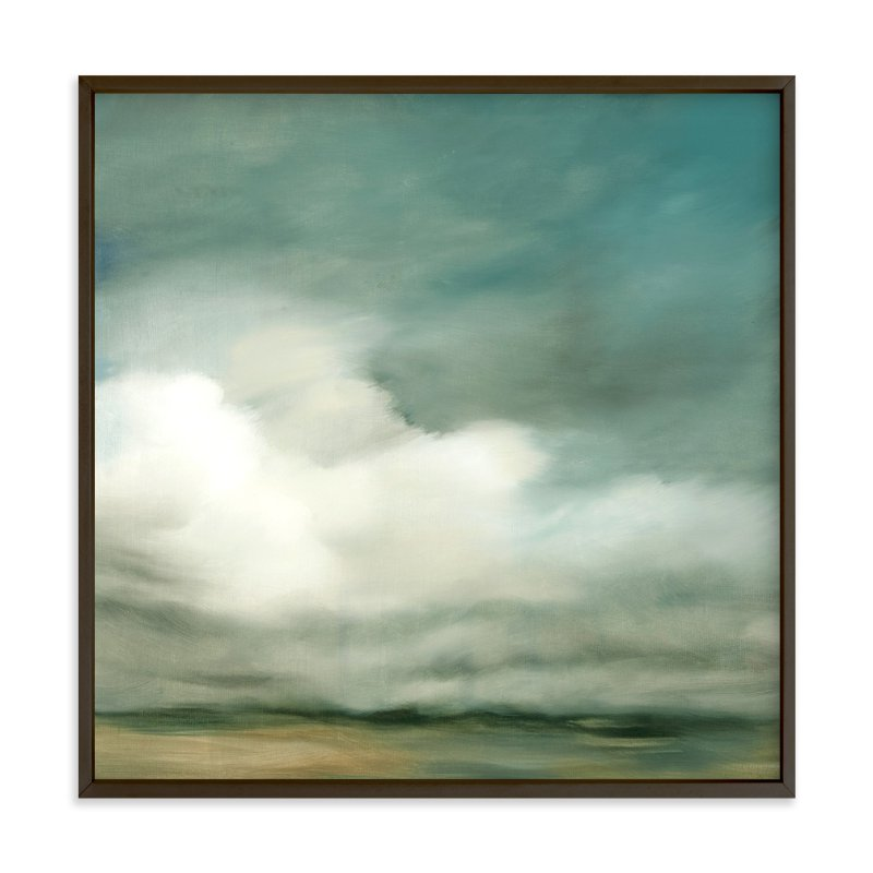 """First of October"" - Art Print by Kelly Money in beautiful frame options and a variety of sizes."