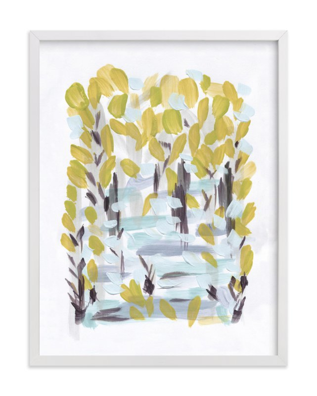 """""""Intermittent"""" - Art Print by Bobbi Welzel in beautiful frame options and a variety of sizes."""