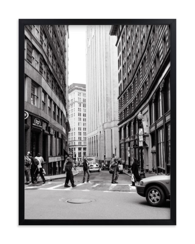 """Downtown IV"" - Art Print by Erin Beutel in beautiful frame options and a variety of sizes."