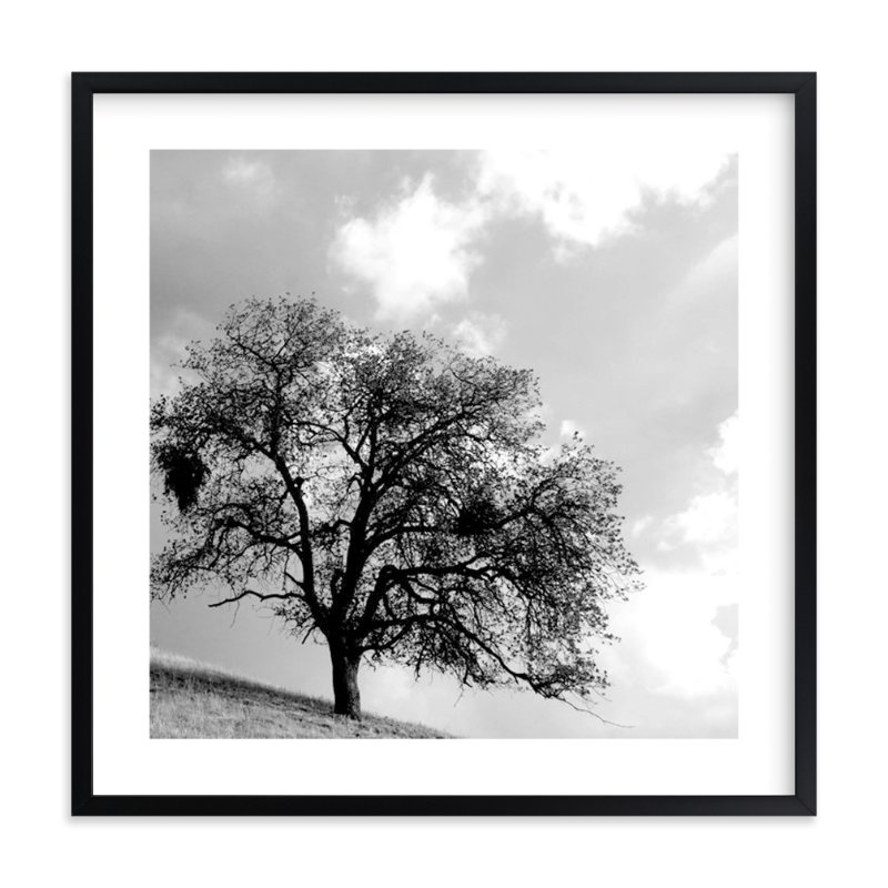 """Twisted In Time"" - Art Print by Leslie Le Coq in beautiful frame options and a variety of sizes."