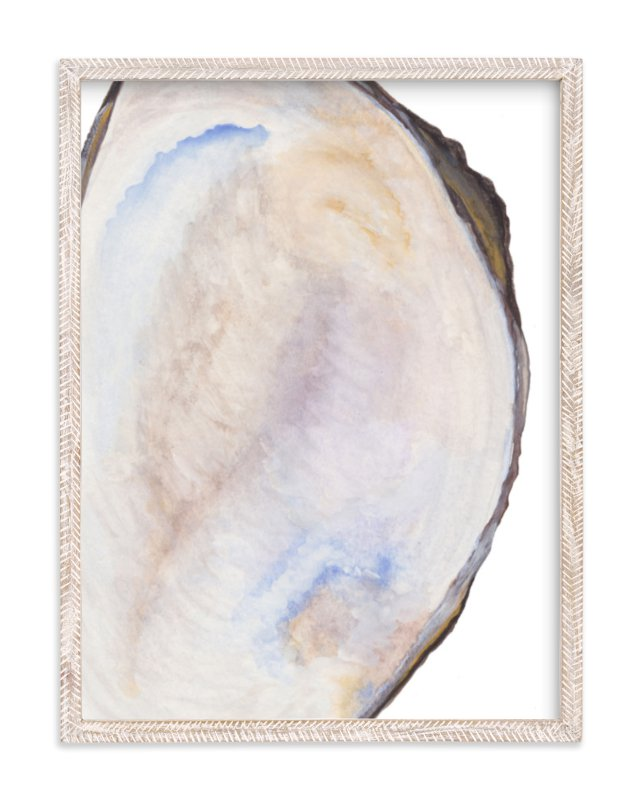 """The Half Shell"" - Art Print by Kaydi Bishop in beautiful frame options and a variety of sizes."