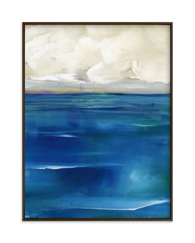 """Rising Tide"" - Art Print by Lindsay Megahed in beautiful frame options and a variety of sizes."
