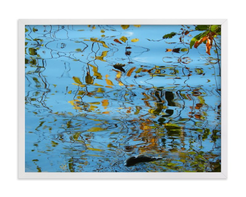 """Autumn Dreams"" - Art Print by Jan Kessel in beautiful frame options and a variety of sizes."