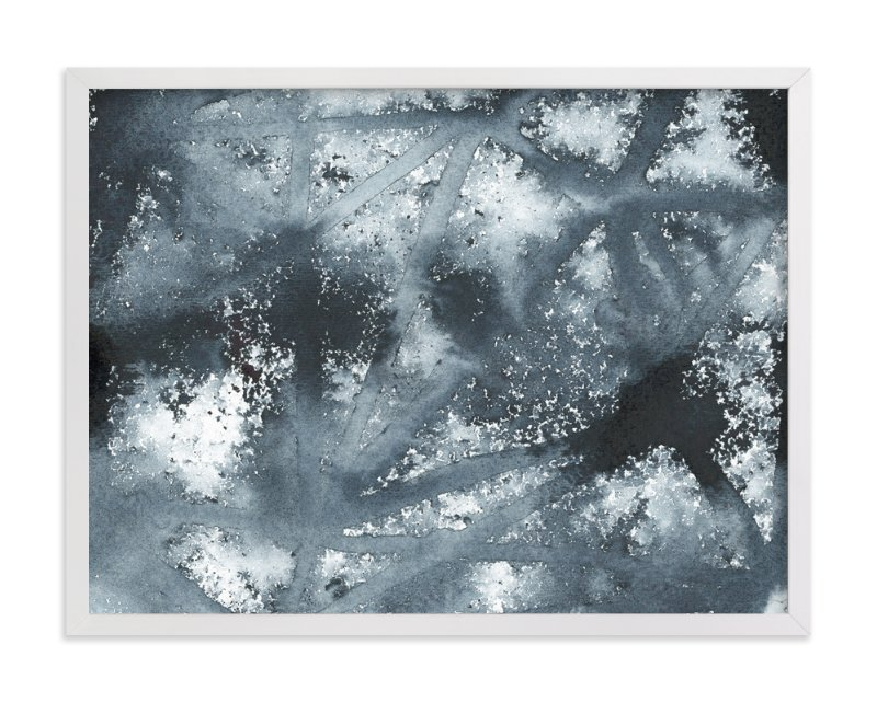 """""""Ice Age"""" - Art Print by Michelle Waldie in beautiful frame options and a variety of sizes."""
