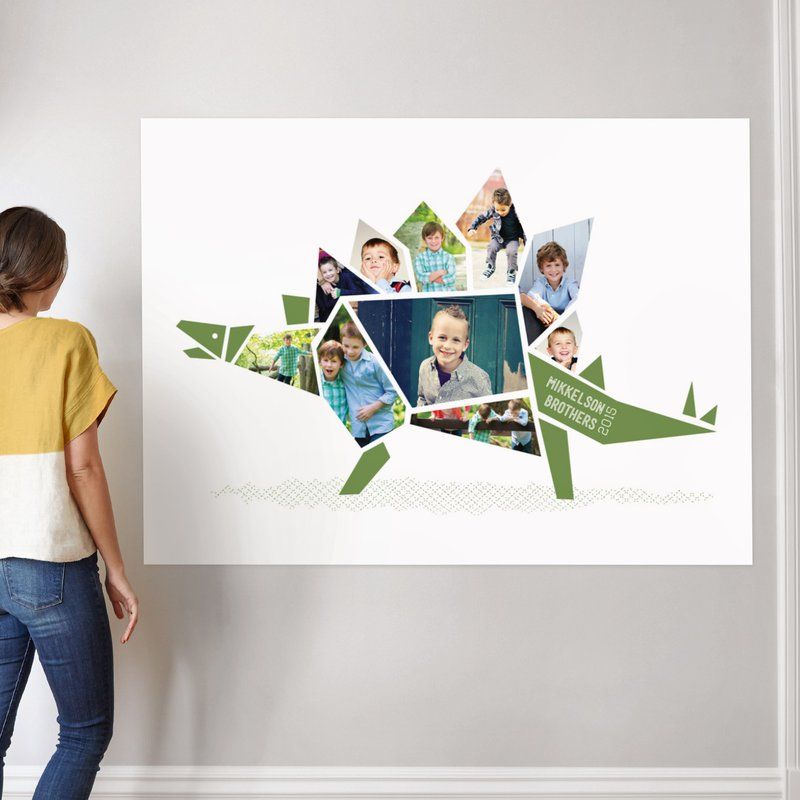 """Stegosaurus"" - Custom Photo Art Print by Betta in beautiful frame options and a variety of sizes."