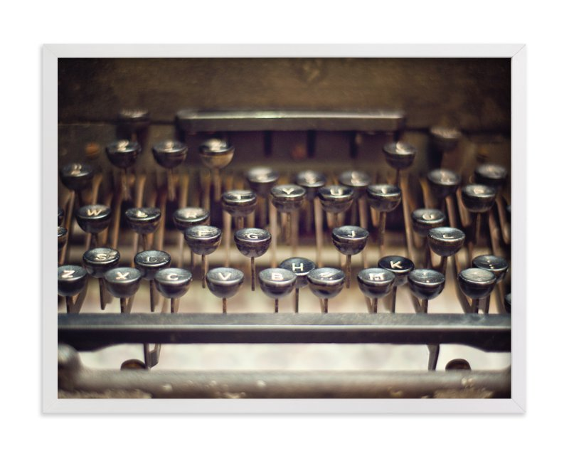 """Underwood 1"" - Art Print by Smile Peace Love in beautiful frame options and a variety of sizes."